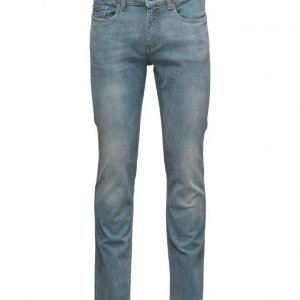 Mango Man Slim-Fit Light Wash Tim Jeans slim farkut