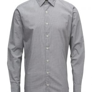 Mango Man Slim-Fit Micro Check Shirt