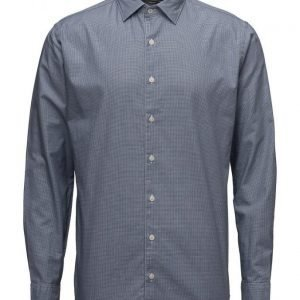 Mango Man Slim-Fit Micro Houndstooth Shirt