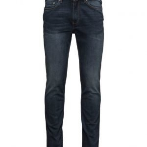Mango Man Slim-Fit Navy Tim Jeans slim farkut