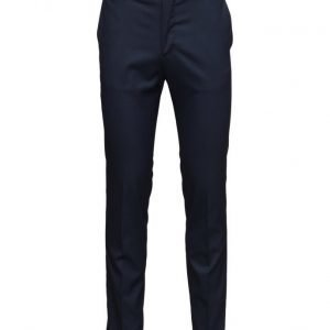 Mango Man Slim-Fit Patterned Suit Trousers