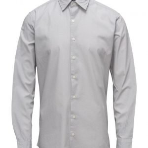 Mango Man Slim-Fit Printed Cotton Shirt