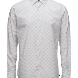 Mango Man Slim-Fit Printed Shirt