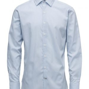 Mango Man Slim-Fit Tailored Fine-Stripe Shirt