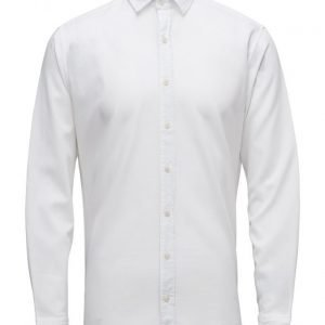 Mango Man Slim-Fit Textured Cotton Shirt