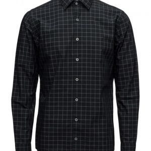 Mango Man Slim-Fit Windowpane Check Shirt