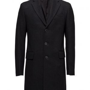 Mango Man Tailored Wool-Blend Overcoat villakangastakki