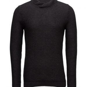 Mango Man Textured Cotton Wool-Blend Sweater