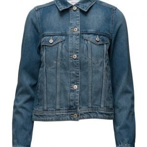 Mango Medium Denim Jacket farkkutakki