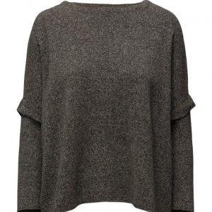 Mango Metal-Thread Linen-Blend Sweater neulepusero