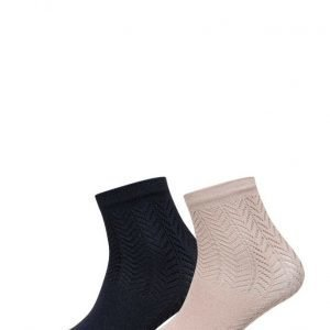 Mango Metallic Ankle Socks Pack nilkkasukat