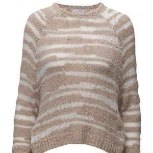 Mango Openwork Knit Sweater neulepusero