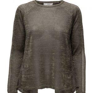 Mango Openwork Metallic Sweater neulepusero