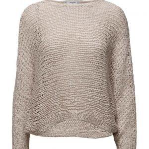 Mango Openwork Wool-Blend Sweater neulepusero