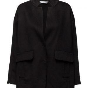 Mango Oversize Wool Coat villakangastakki