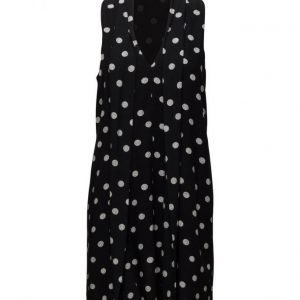 Mango Polka-Dot Dress lyhyt mekko