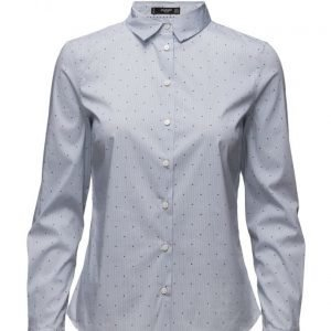 Mango Polka-Dot Shirt pitkähihainen paita