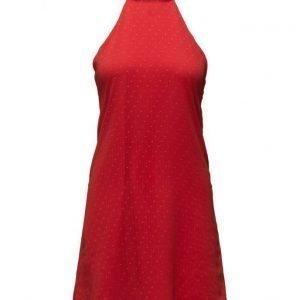 Mango Polka-Dot Textured Dress mekko