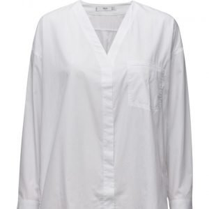 Mango Poplin Shirt pitkähihainen paita