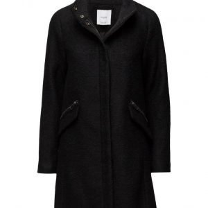 Mango Side-Zip Wool Coat villakangastakki