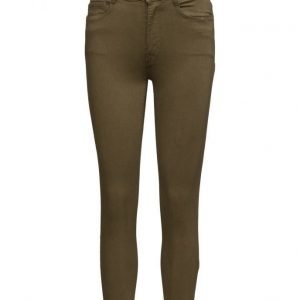 Mango Slim-Fit Stretch Trousers skinny housut
