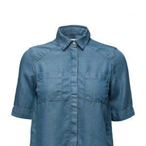Mango Soft Fabric Shirt lyhythihainen paita