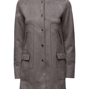 Mango Straight Pockets Coat päällystakki
