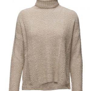 Mango Stripe Textured Sweater poolopaita