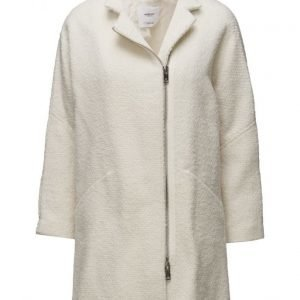 Mango Unstructured Wool-Blend Coat villakangastakki