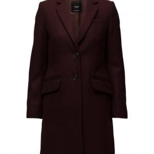 Mango Wool Straight-Cut Coat villakangastakki