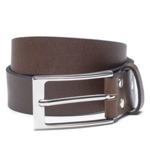 Marccetti Alessando Leather Belt Dk Brown