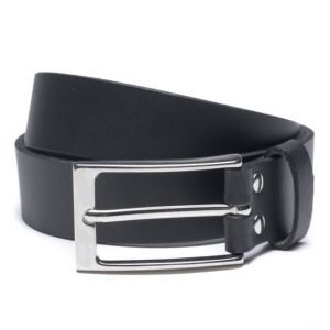 Marccetti Alessandro Leather Belt Black