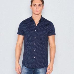 Marccetti Aston Short Sleeve Shirt Navy