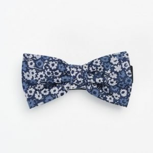 Marccetti Elia Bow Tie Mini Flower Dark Blue