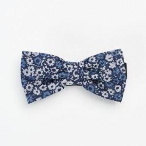 Marccetti Elia Bow Tie Mini Flower Dark Blue