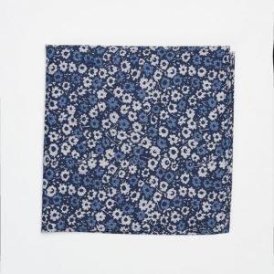 Marccetti Elia Hankie Flower Dark Blue