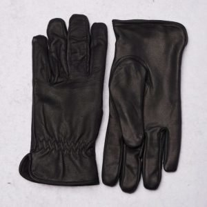 Marccetti Pietro Leather Gloves Black