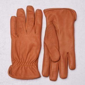 Marccetti Pietro Leather Gloves Cognac