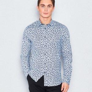 Marccetti Riccardo Shirt All Over Print Blue
