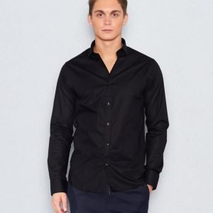 Marccetti Tito Slim Shirt Black