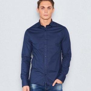 Marccetti Tito Slim Shirt Navy