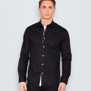 Marccetti Tom Contrast Shirt Black