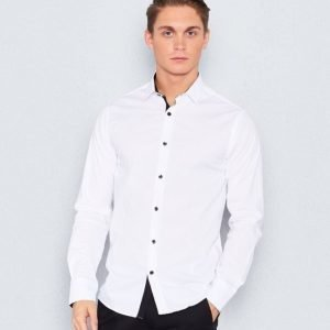 Marccetti Tom Contrast Shirt White