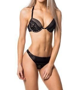 Marie Meili Harriet Push Up Bra Black