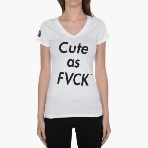 Married to the Mob Cute As Fvck V-Neck Tee