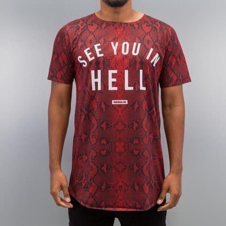 Maskulin T-paita Punainen