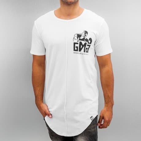 Maskulin T-paita Valkoinen
