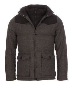 Material Mixed Winter Jacket
