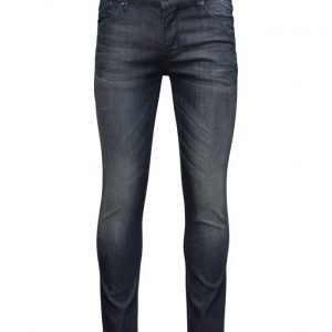 Matinique Scott Lab-Dark Blue Washed Denim slim farkut