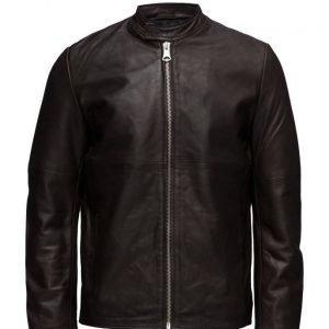 Matinique Wesley Worn Leather nahkatakki